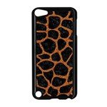 SKIN1 BLACK MARBLE & RUSTED METAL Apple iPod Touch 5 Case (Black) Front