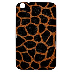 Skin1 Black Marble & Rusted Metal Samsung Galaxy Tab 3 (8 ) T3100 Hardshell Case  by trendistuff
