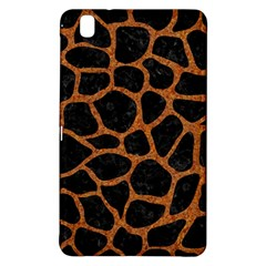 Skin1 Black Marble & Rusted Metal Samsung Galaxy Tab Pro 8 4 Hardshell Case by trendistuff