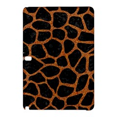 Skin1 Black Marble & Rusted Metal Samsung Galaxy Tab Pro 12 2 Hardshell Case by trendistuff