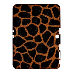 Skin1 Black Marble & Rusted Metal Samsung Galaxy Tab 4 (10 1 ) Hardshell Case