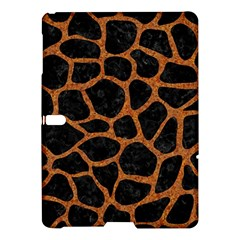 Skin1 Black Marble & Rusted Metal Samsung Galaxy Tab S (10 5 ) Hardshell Case  by trendistuff