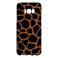 Skin1 Black Marble & Rusted Metal Samsung Galaxy S8 Plus Hardshell Case  by trendistuff