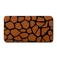 Skin1 Black Marble & Rusted Metal (r) Medium Bar Mats by trendistuff