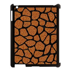 Skin1 Black Marble & Rusted Metal (r) Apple Ipad 3/4 Case (black) by trendistuff