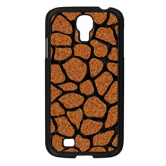 Skin1 Black Marble & Rusted Metal (r) Samsung Galaxy S4 I9500/ I9505 Case (black) by trendistuff
