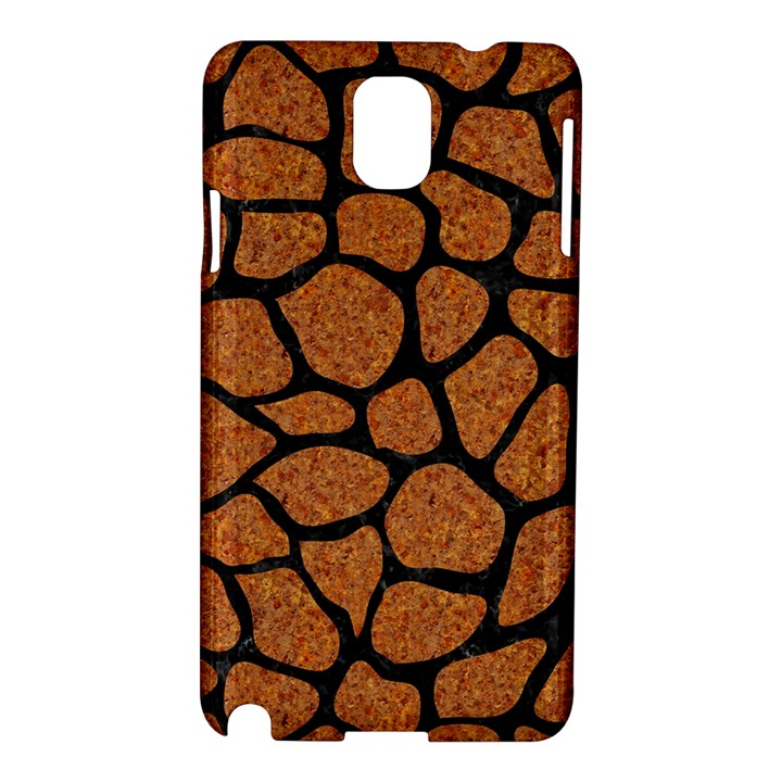 SKIN1 BLACK MARBLE & RUSTED METAL (R) Samsung Galaxy Note 3 N9005 Hardshell Case