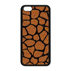 Skin1 Black Marble & Rusted Metal (r) Apple Iphone 5c Seamless Case (black) by trendistuff