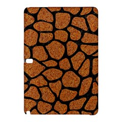 Skin1 Black Marble & Rusted Metal (r) Samsung Galaxy Tab Pro 12 2 Hardshell Case by trendistuff