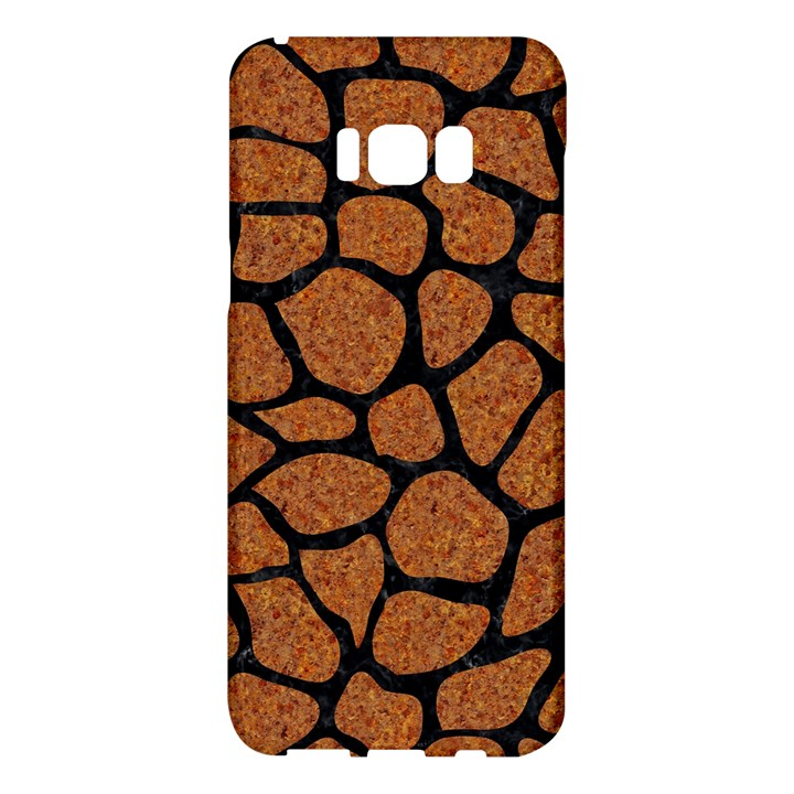 SKIN1 BLACK MARBLE & RUSTED METAL (R) Samsung Galaxy S8 Plus Hardshell Case