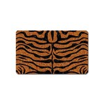 SKIN2 BLACK MARBLE & RUSTED METAL Magnet (Name Card) Front