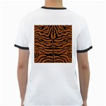 SKIN2 BLACK MARBLE & RUSTED METAL Ringer T-Shirts Back