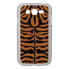 Skin2 Black Marble & Rusted Metal Samsung Galaxy Grand Duos I9082 Case (white) by trendistuff