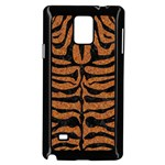 SKIN2 BLACK MARBLE & RUSTED METAL Samsung Galaxy Note 4 Case (Black) Front