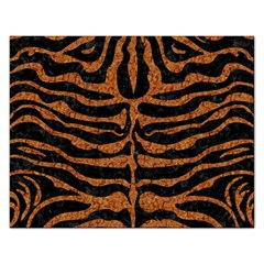 Skin2 Black Marble & Rusted Metal (r) Rectangular Jigsaw Puzzl
