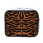 SKIN2 BLACK MARBLE & RUSTED METAL (R) Mini Toiletries Bags Front