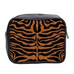 SKIN2 BLACK MARBLE & RUSTED METAL (R) Mini Toiletries Bag 2-Side Back