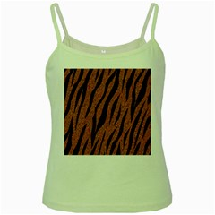 Skin3 Black Marble & Rusted Metal Green Spaghetti Tank