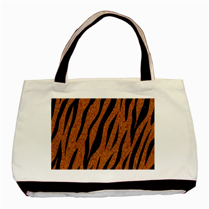 SKIN3 BLACK MARBLE & RUSTED METAL Basic Tote Bag