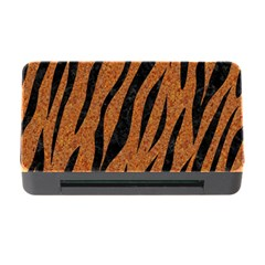Skin3 Black Marble & Rusted Metal Memory Card Reader With Cf