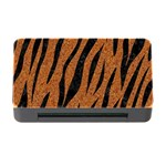 SKIN3 BLACK MARBLE & RUSTED METAL Memory Card Reader with CF Front
