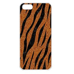 Skin3 Black Marble & Rusted Metal Apple Iphone 5 Seamless Case (white) by trendistuff
