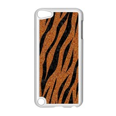Skin3 Black Marble & Rusted Metal Apple Ipod Touch 5 Case (white) by trendistuff