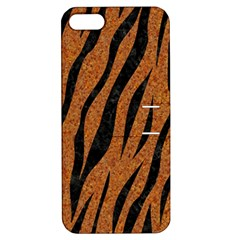 Skin3 Black Marble & Rusted Metal Apple Iphone 5 Hardshell Case With Stand by trendistuff