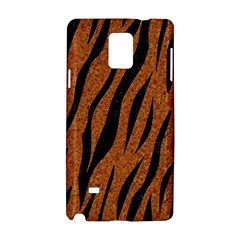Skin3 Black Marble & Rusted Metal Samsung Galaxy Note 4 Hardshell Case by trendistuff