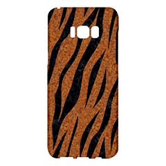 Skin3 Black Marble & Rusted Metal Samsung Galaxy S8 Plus Hardshell Case  by trendistuff