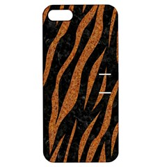 Skin3 Black Marble & Rusted Metal (r) Apple Iphone 5 Hardshell Case With Stand by trendistuff