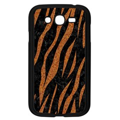 Skin3 Black Marble & Rusted Metal (r) Samsung Galaxy Grand Duos I9082 Case (black) by trendistuff