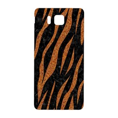 Skin3 Black Marble & Rusted Metal (r) Samsung Galaxy Alpha Hardshell Back Case by trendistuff