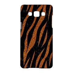 Skin3 Black Marble & Rusted Metal (r) Samsung Galaxy A5 Hardshell Case  by trendistuff