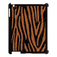 Skin4 Black Marble & Rusted Metal Apple Ipad 3/4 Case (black) by trendistuff