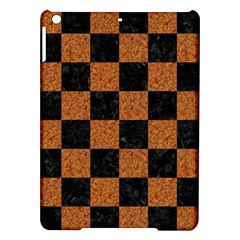 Square1 Black Marble & Rusted Metal Ipad Air Hardshell Cases by trendistuff