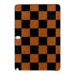 Square1 Black Marble & Rusted Metal Samsung Galaxy Tab Pro 12 2 Hardshell Case by trendistuff