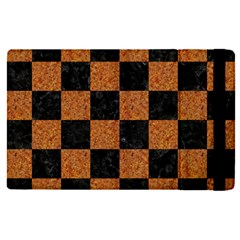 Square1 Black Marble & Rusted Metal Apple Ipad Pro 12 9   Flip Case by trendistuff