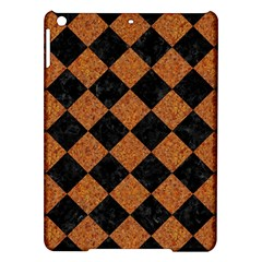 Square2 Black Marble & Rusted Metal Ipad Air Hardshell Cases by trendistuff