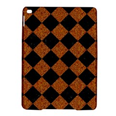 Square2 Black Marble & Rusted Metal Ipad Air 2 Hardshell Cases by trendistuff