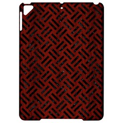Woven2 Black Marble & Reddish Brown Wood Apple Ipad Pro 9 7   Hardshell Case by trendistuff