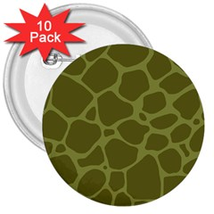Autumn Animal Print 1 3  Buttons (10 Pack)  by tarastyle