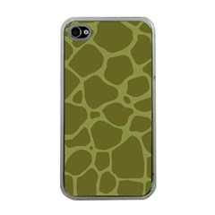 Autumn Animal Print 1 Apple Iphone 4 Case (clear) by tarastyle