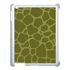 Autumn Animal Print 1 Apple Ipad 3/4 Case (white) by tarastyle