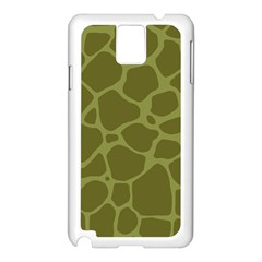 Autumn Animal Print 1 Samsung Galaxy Note 3 N9005 Case (white) by tarastyle