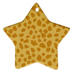 Autumn Animal Print 2 Ornament (star) by tarastyle