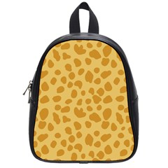 Autumn Animal Print 2 School Bag (small) by tarastyle
