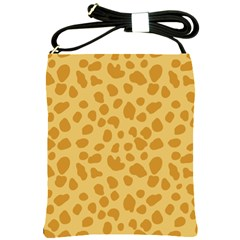 Autumn Animal Print 2 Shoulder Sling Bags by tarastyle