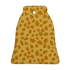 Autumn Animal Print 2 Bell Ornament (two Sides) by tarastyle