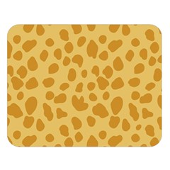 Autumn Animal Print 2 Double Sided Flano Blanket (large)  by tarastyle
